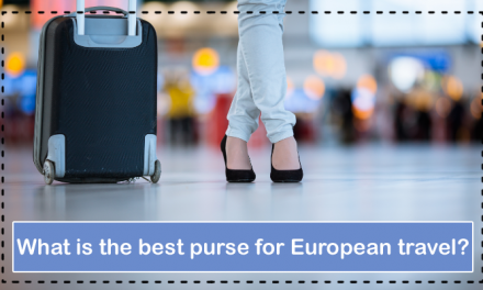 What is the best purse for European travel?