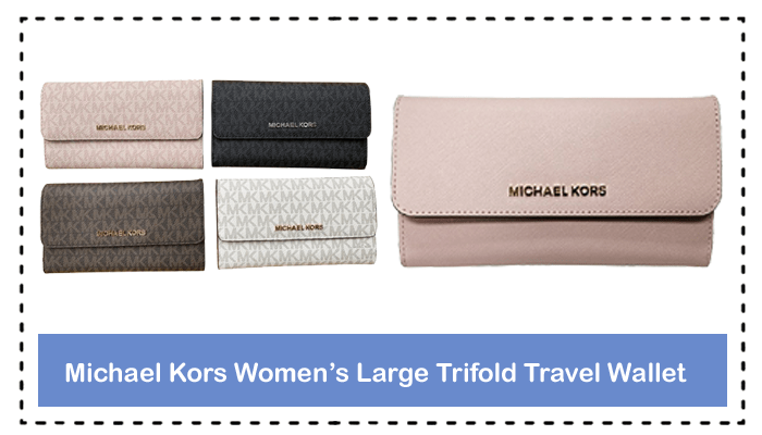 A Complete Review On Michael Kors Women's Large Trifold Travel Wallet