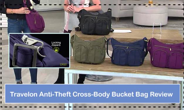 Travelon Anti-Theft Cross-Body Bucket Bag Review