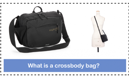 What is a crossbody bag?