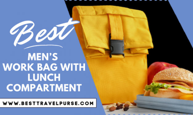 Best Men's Work Bag with Lunch Compartment
