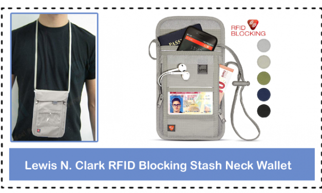 Lewis N. Clark RFID Blocking Stash Neck Wallet Full Review