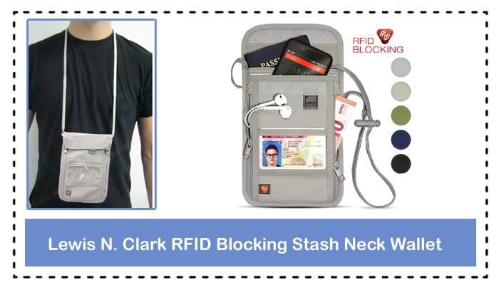 Lewis N. Clark RFID Blocking Stash Neck Wallet Full Review
