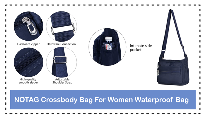 Get Our Handy And Comfy NOTAG Crossbody Bag For Women