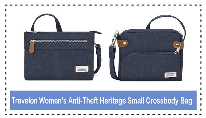 Travelon Women's Anti-Theft Heritage Small Crossbody Bag Review