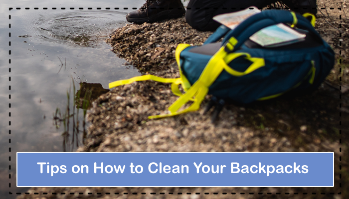 Tips on How to Clean Your Backpacks