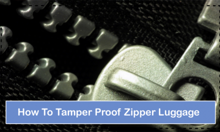How To Tamper Proof Zipper Luggage – Quick Hacks 2021