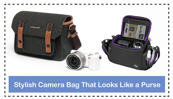 Stylish Camera Bag That Looks Like a Purse
